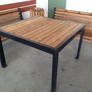 164286ImageFile2 300x300 - שולחן עץ בסיס ברזל דגם 1