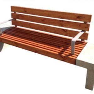 164338ImageFile2 300x300 - ספסל עץ שילוב בטון דגם 4