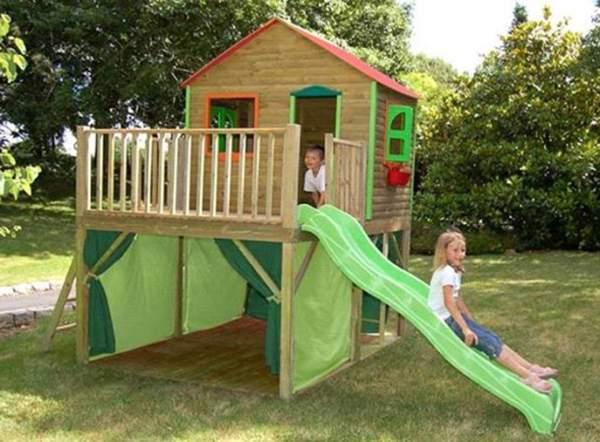 61 - בית עץ לילדים דגם אייל
