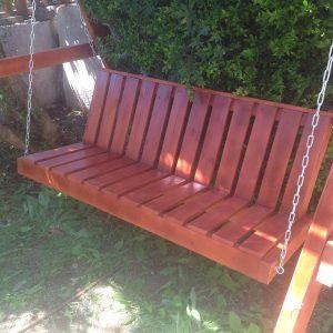 נדנדה דגם יוקרתי 4 300x300 - ספסל נדנדה לתלייה מעץ מלא דגם יוקרתי