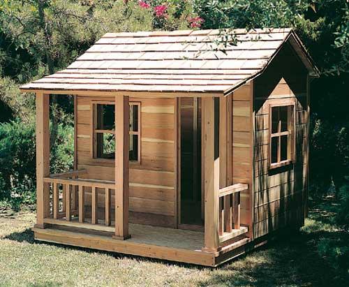 עץ 6 - בית עץ לילדים לחצר דגם הוד והדר