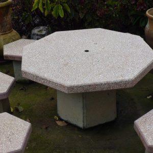 מתומן דגם105 scaled 1 300x300 - שולחן מתומן דגם 105