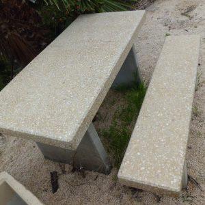 פקניק נפרד דגם 101א 300x300 - שולחן + ספסל דגם 101 א